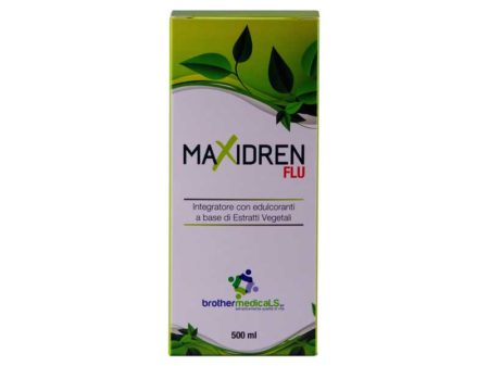 BROTHERMEDICALS SRL: Maxidren Flu 500 ml - integratore con edulcoranti a base di estratti vegetali