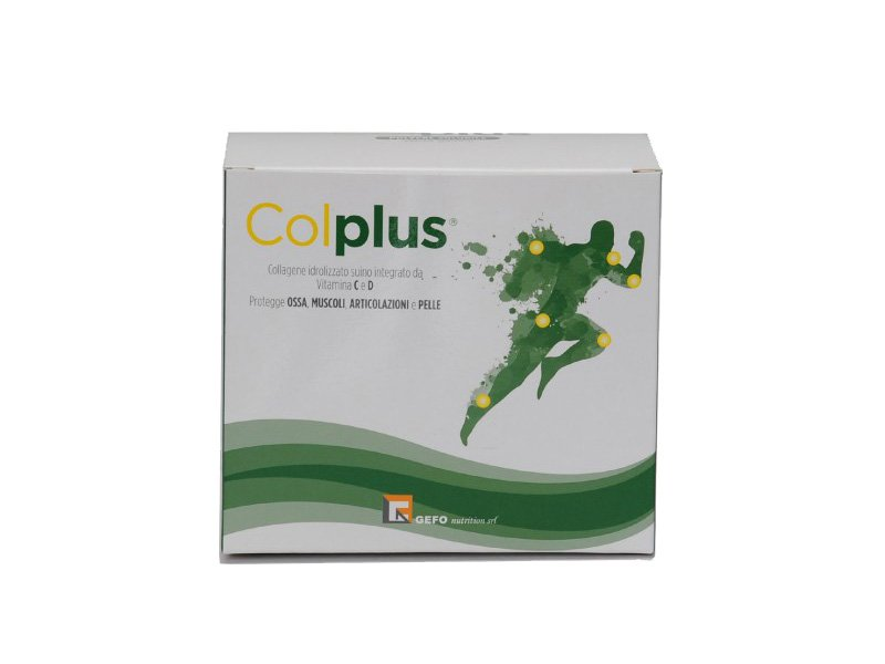 BROTHERMEDICALS SRL: COLPLUS® astuccio da 30 bustine da 10,4 gr. di polvere solubile