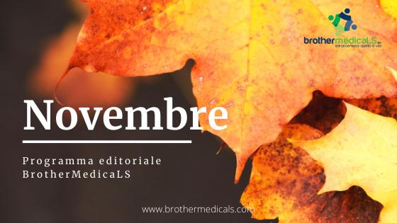 Programma editoriale Novembre BrothermedicaLS